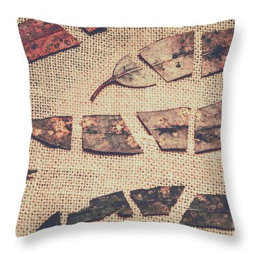 Autumnal Break Throw Pillow