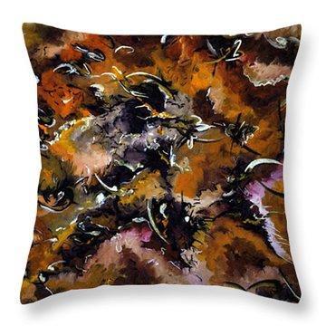 Autumnal Cut Throw Pillow