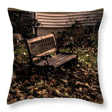 Autumnal Solace Throw Pillow