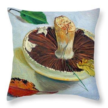 Autumnal Still Life, Throw Pillow