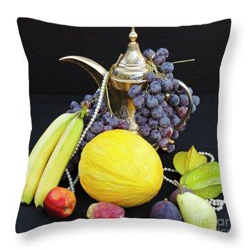Symphony Of Forbidden Fruits Throw Pillow
