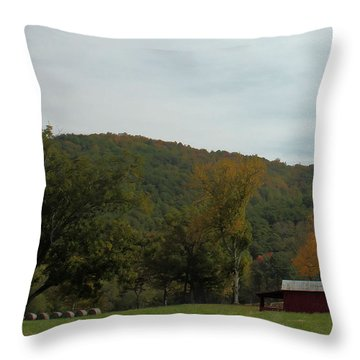 Autumnfall Throw Pillow