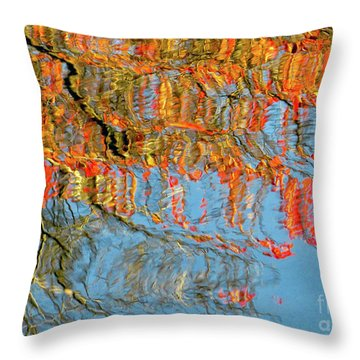 Autumns Fire Throw Pillow