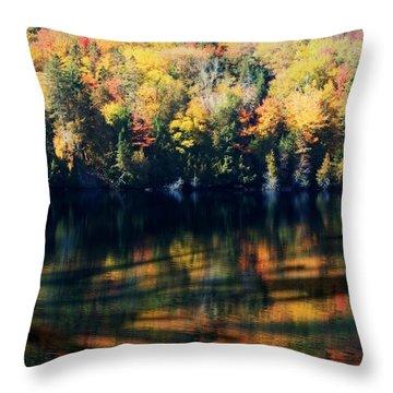 Autumn's Masterpiece Throw Pillow