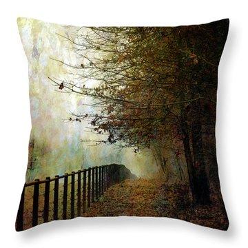 Autumns Path 7864 Idp_2 Throw Pillow