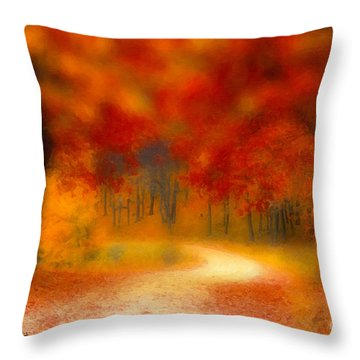 Autumn's Promise Throw Pillow