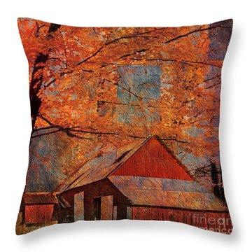 Autumn's Slate 2015 Throw Pillow