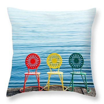 Available Seats Throw Pillow