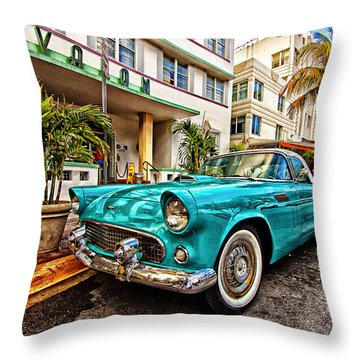 Throw Pillow featuring the photograph Avalon by Joe Paul