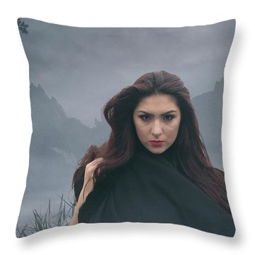 Avalon Part Two Throw Pillow