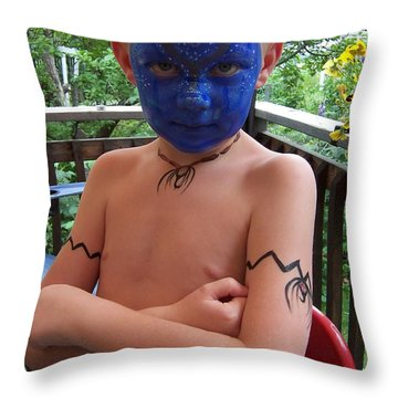 Avatar Fun Throw Pillow