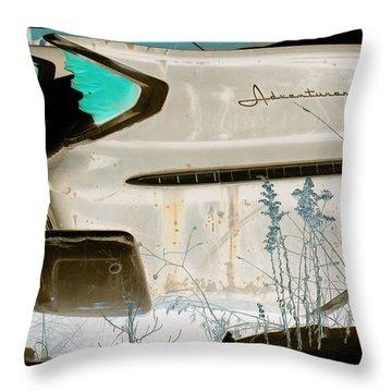 Desoto Aventurer Throw Pillow