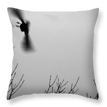 Avian Nightmare Throw Pillow