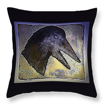 Avian Throw Pillow by Steamy Raimon