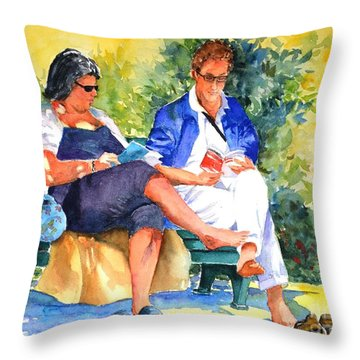 Avid Readers #1 Throw Pillow