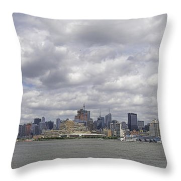 A View From New Jersey 1 Throw Pillow