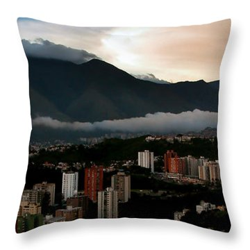 Avila At Sundown Throw Pillow