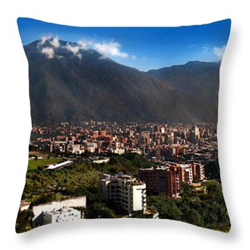 Avila At Sunrise Throw Pillow