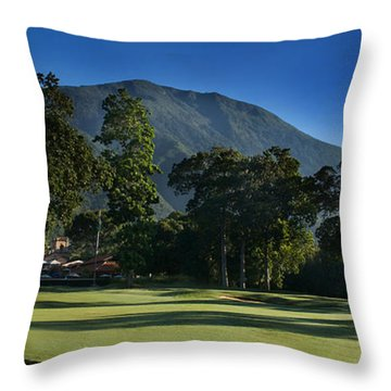 Avila Frome Hole18 Throw Pillow