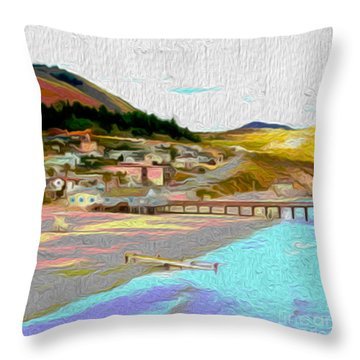 Avila Paddle Throw Pillow