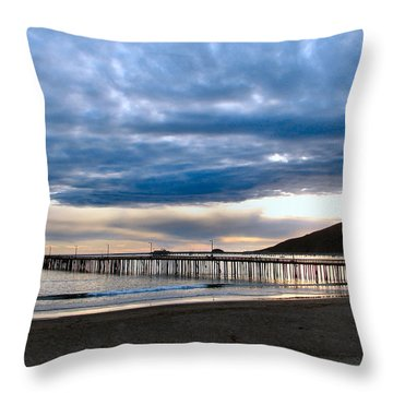 Avila Pier Throw Pillow