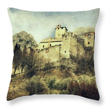 Avio Castle Throw Pillow