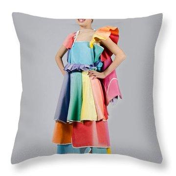 Aviva In Patio Umbrella Dress Throw Pillow