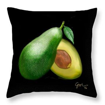 Avocado Throw Pillow
