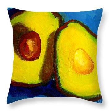 Avocado Palta IIi Throw Pillow