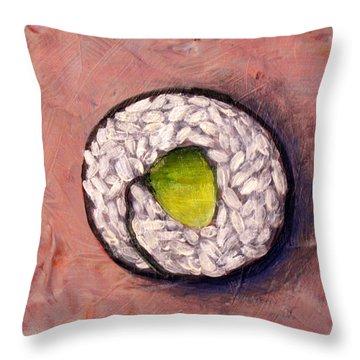 Avocado Sushi 03 Throw Pillow