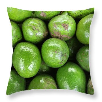 Avocados 243 Throw Pillow