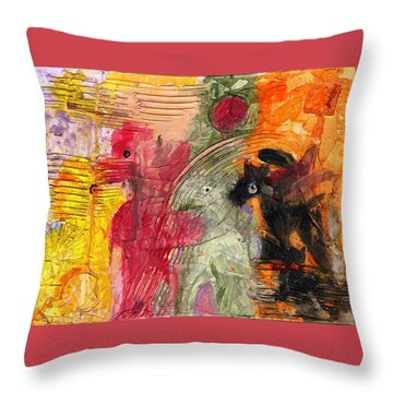 Avoiding The Apocalypse Throw Pillow
