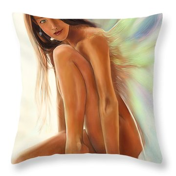 Avril Throw Pillow