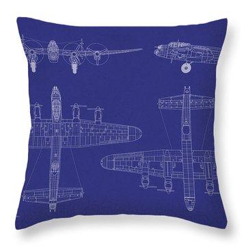 Bomber Throw Pillows