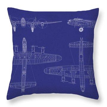Bombers Throw Pillows