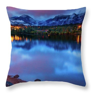 Awaiting Dawn Throw Pillow
