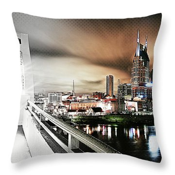 Awaiting The Dark Knight Throw Pillow by Matt Helm