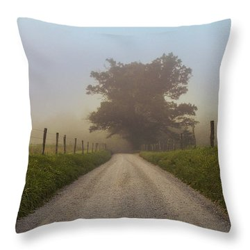 Awaiting The Horizon Throw Pillow by Jessica Brawley