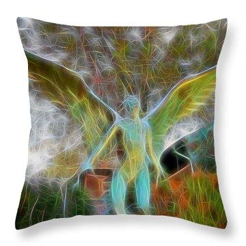 Throw Pillow featuring the photograph Awaken by Gina Savage
