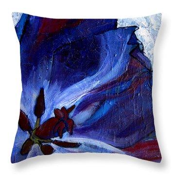 Awakening Throw Pillow by Allison Coelho Picone