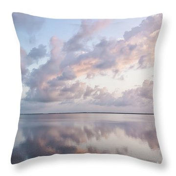 Throw Pillow featuring the photograph Awakening At Sunrise by Louise Lindsay