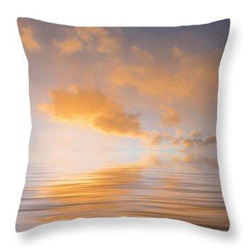 Awakening Throw Pillow by Jerry McElroy