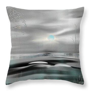 Natural High Throw Pillow