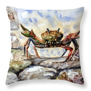 Awaking Throw Pillow