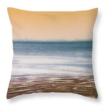 Away From Civilization Throw Pillow