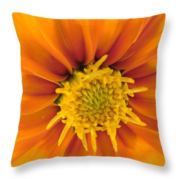 Awesome Blossom Throw Pillow