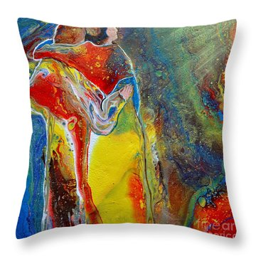 Awesome God Throw Pillow