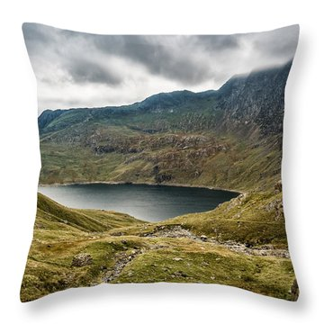 Awesome Hike Throw Pillow