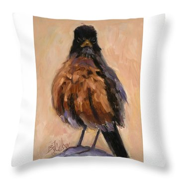 Awol Throw Pillow by Billie Colson