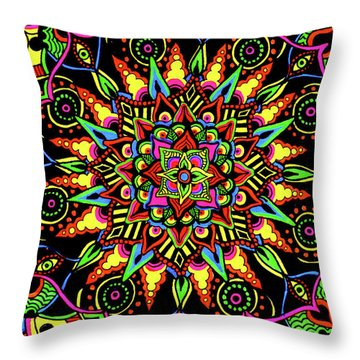 Axis Of Change Throw Pillow